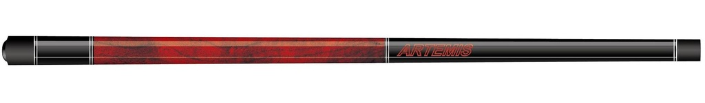 Tágo karambol ARTEMIS Black/Red Handle