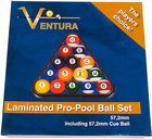 Koule pool VENTURA LAMINATED